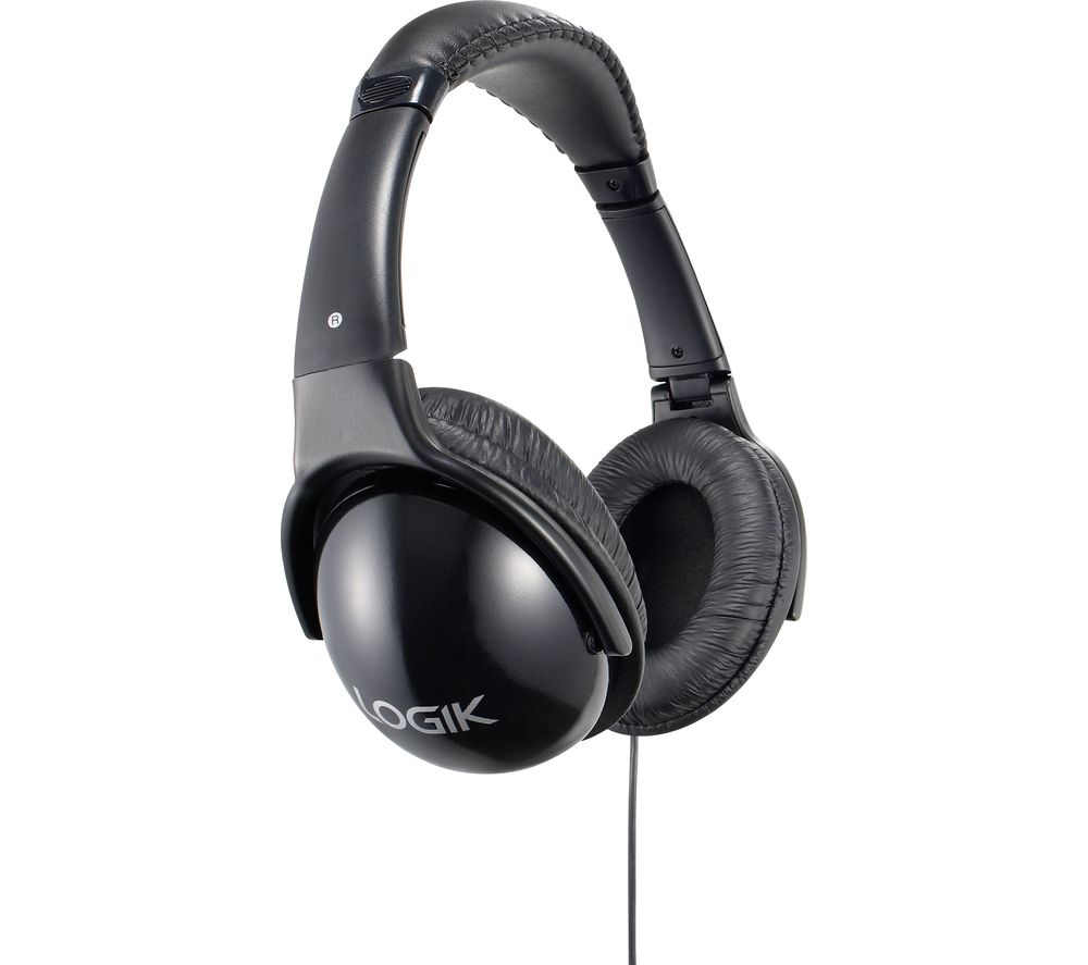 LOGIK LHHIFI21 Headphones - Black