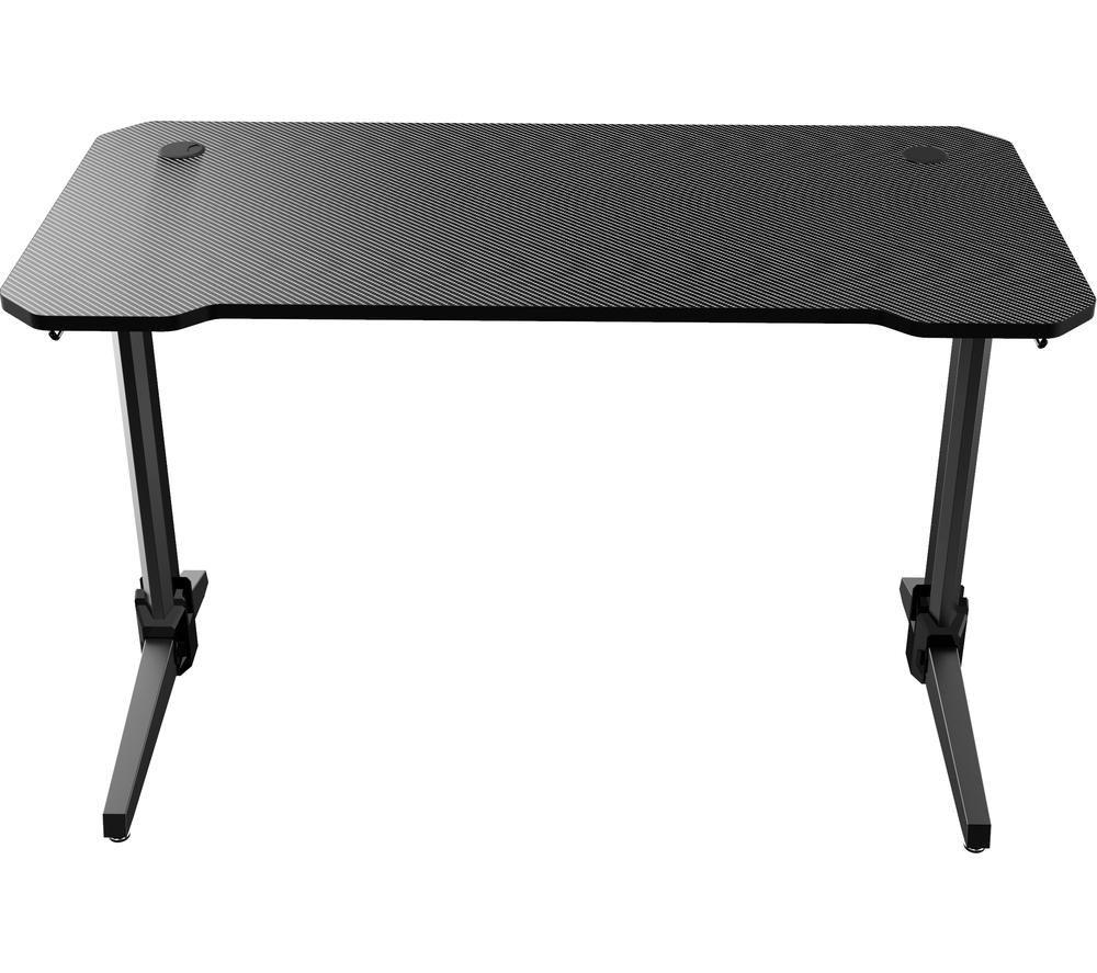 NITRO CONCEPTS D16M Carbon Gaming Desk - Black, Black
