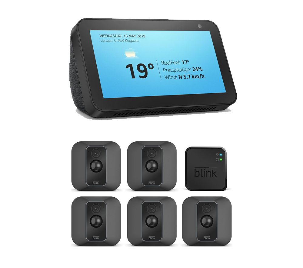 Image of AMAZON Echo Show 5 & Blink WiFi Security System Bundle