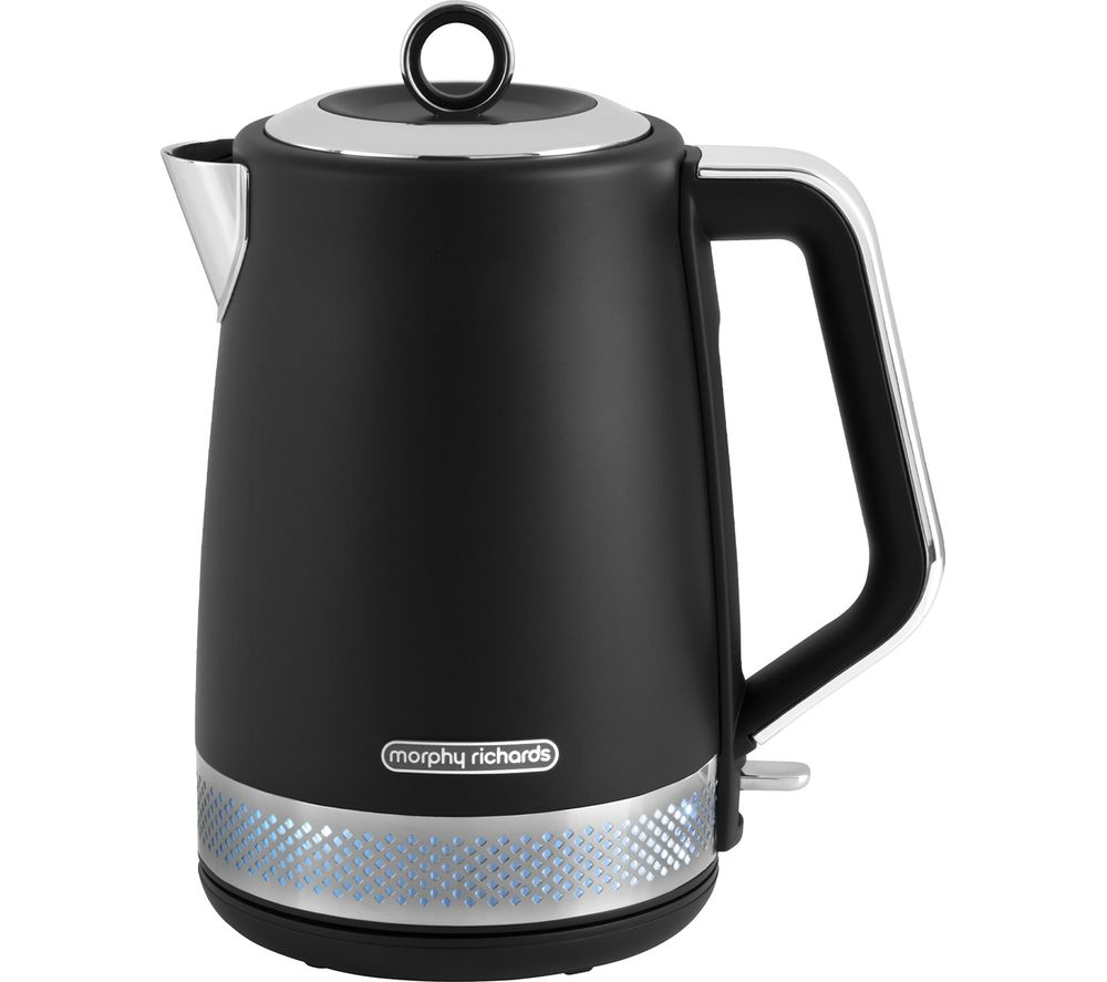 MORPHY RICHARDS Illumination 108020 Jug Kettle - Black