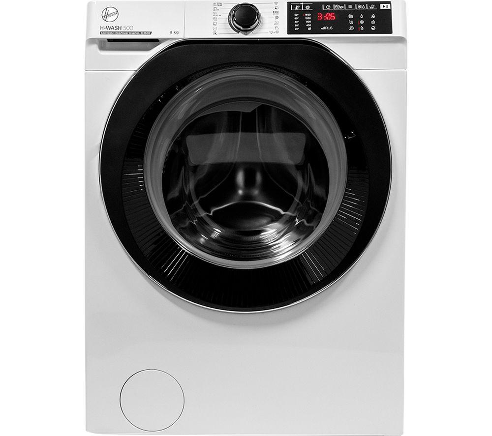 HOOVER H-Wash 500 HWDB 69AMBC WiFi-enabled 9 kg 1600 Spin Washing Machine - White, White