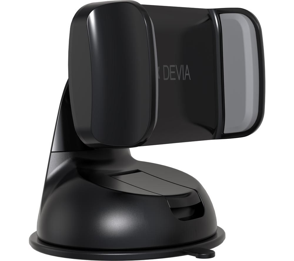 DEVIA DEV-SUCTION-CAR-BLK Car Phone Holder