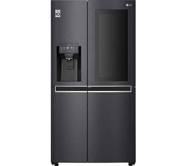 Image of LG GSX960MCCZ American-Style Smart Fridge Freezer - Black