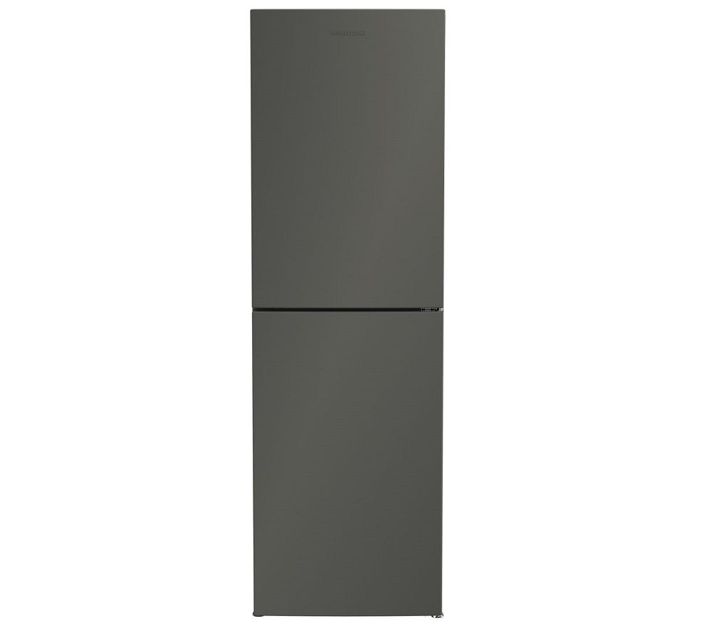 GRUNDIG GKNG3691G 50/50 Fridge Freezer - Graphite, Graphite