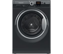 Core NSWR 843C BS UK N 8 kg 1400 Spin Washing Machine – Black