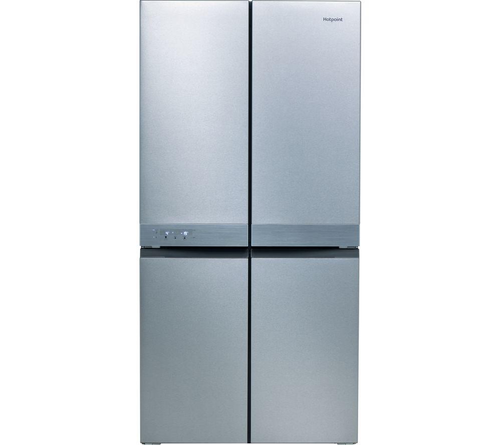 HOTPOINT HQ9 B1L 1 Fridge Freezer - Stainless Steel