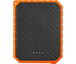 XR101 Portable Power Bank with Torch - Black & Orange