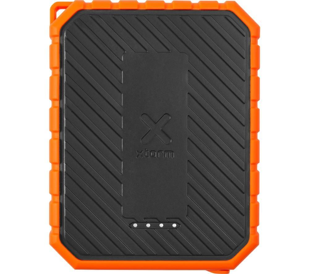XTORM XR101 Portable Power Bank with Torch - Black & Orange