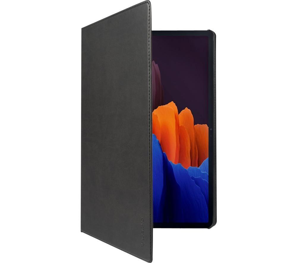 "GECKO COVERS Easy-click 2.0 12.4"" Samsung Galaxy Tab S7 Smart Cover - Black, Black"