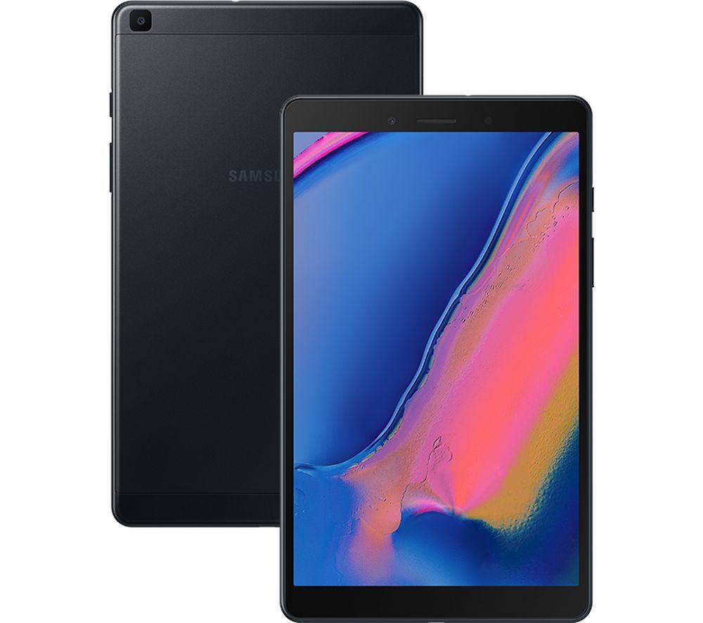 "Image of SAMSUNG Galaxy Tab A 8"" 4G Tablet (2019) - 32 GB, Black, Black"
