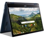 £449, ACER Spin 513 LTE 13.3inch 2 in 1 Chromebook - Qualcomm SC7180, 128 GB eMMC, Blue, Chrome OS, Qualcomm SC7180 Processor, RAM: 8GB / Storage: 128GB eMMC, Full HD touchscreen, Battery life:Up to 14 hours,