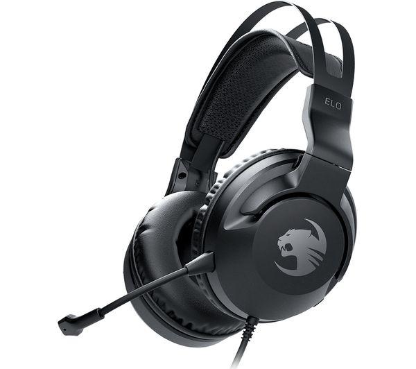 ROCCAT Elo X Stereo Gaming Headset - Black, Black