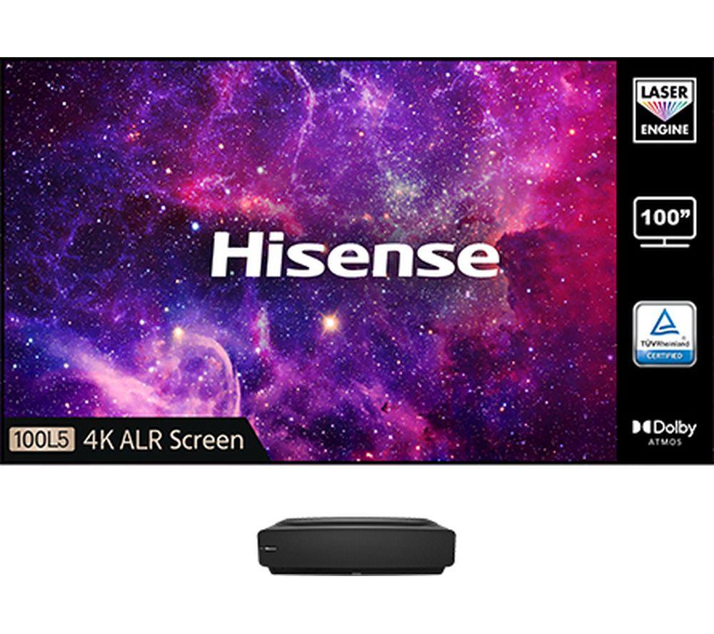 HISENSE 100L5FTUK-B12 Smart 4K Ultra HD HDR Laser TV