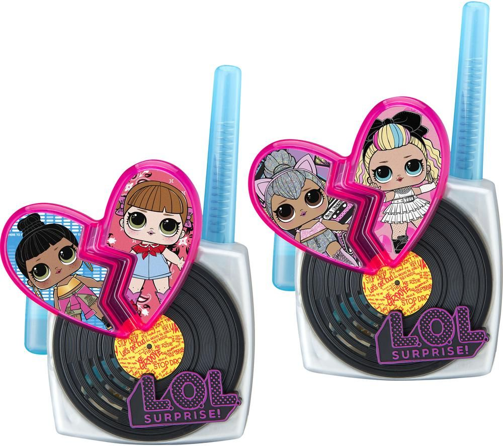 Ekids Lol Surprise Ll 207 Walkie Talkies Twin Pack