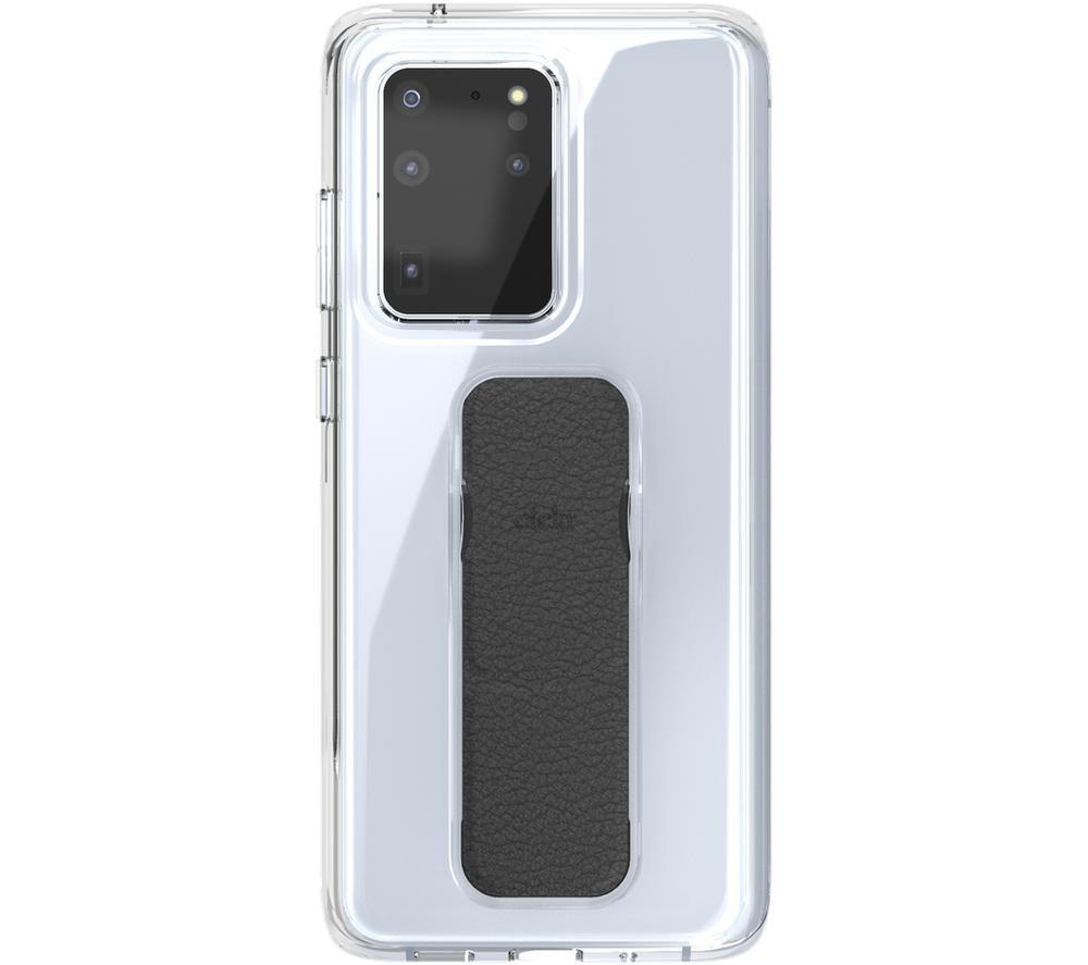 CLCKR Galaxy S20 Ultra 5G Case - Clear & Black