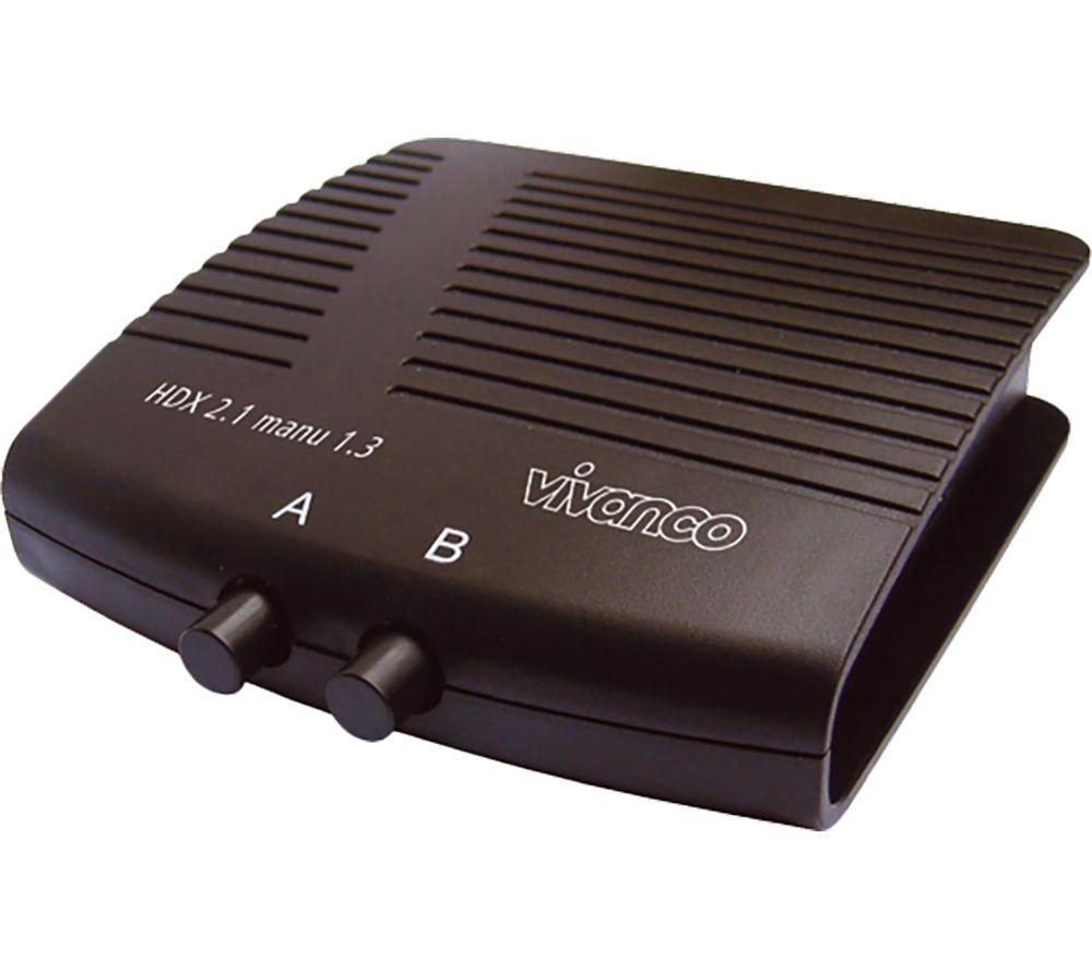 VIVANCO 25349 2-Port HDMI Switch