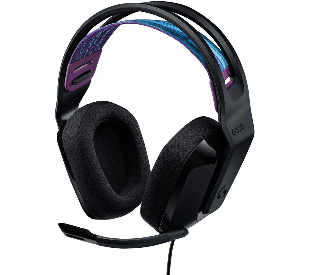 LOGITECH G335 Gaming Headset - Black