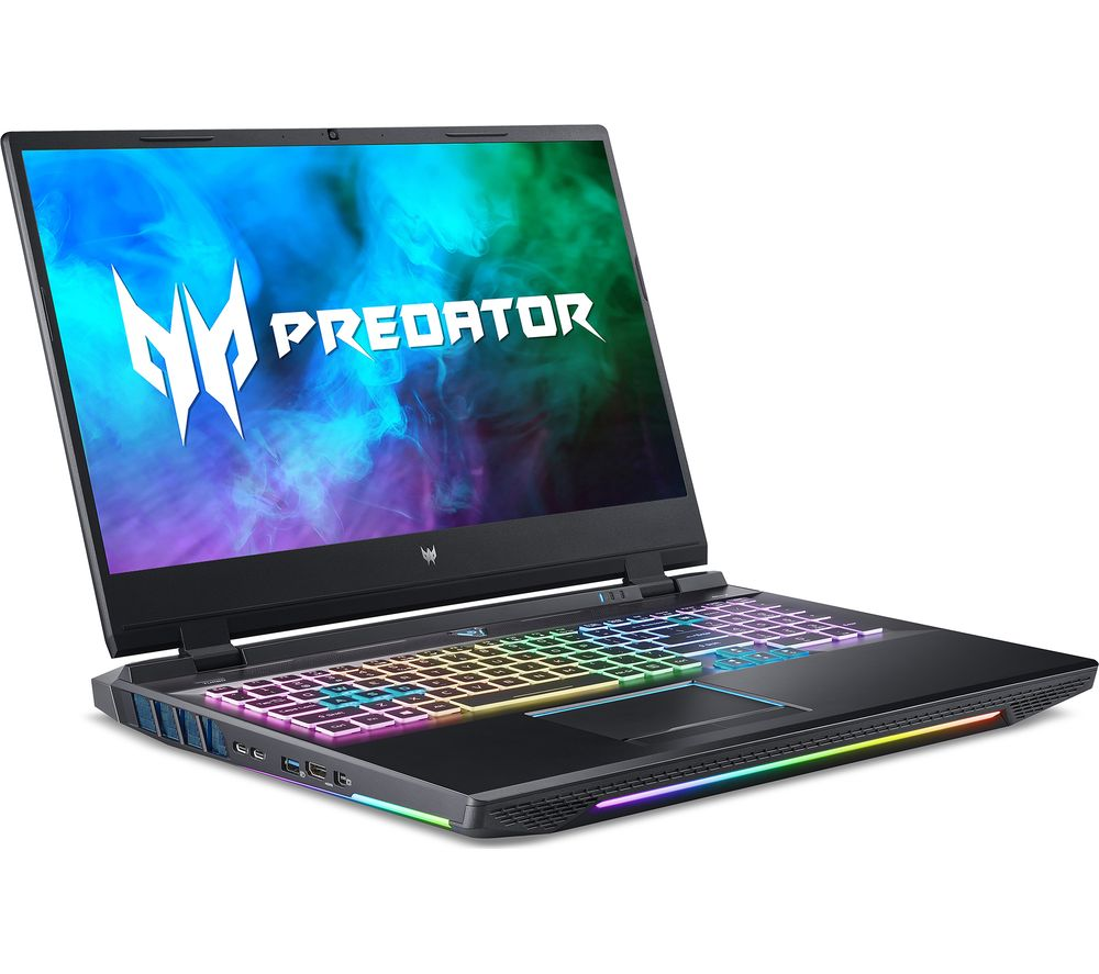 """Image of ACER Predator Helios 500 17.3"""" Gaming Laptop - Intel®Core™ i9, RTX 3080, 1 TB HDD & 1 TB SSD"""