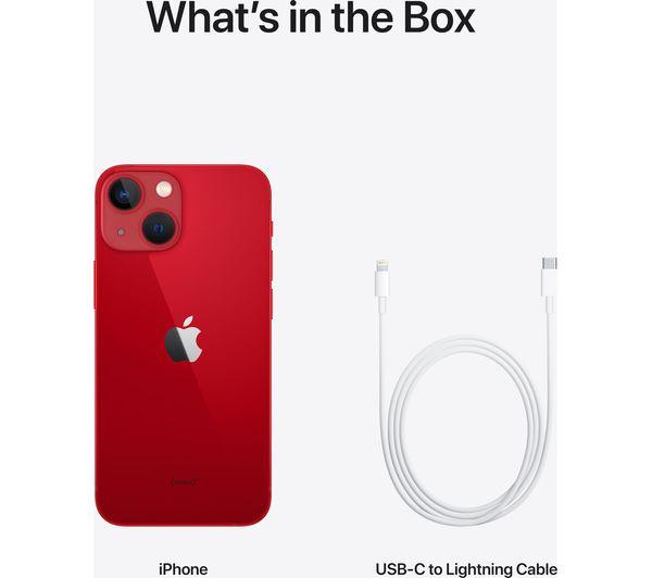 Apple iPhone 13 mini - 128 GB, (PRODUCT)RED 8