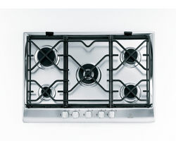 INDESIT Prime IP751SCIX Gas Hob - Stainless Steel
