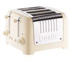 DUALIT DL4C 4-Slice Toaster - Cream
