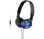 SONY MDR-ZX310APL Headphones - Blue