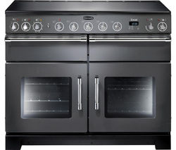 RANGEMASTER Excel 110 Electric Induction Range Cooker - Slate & Chrome