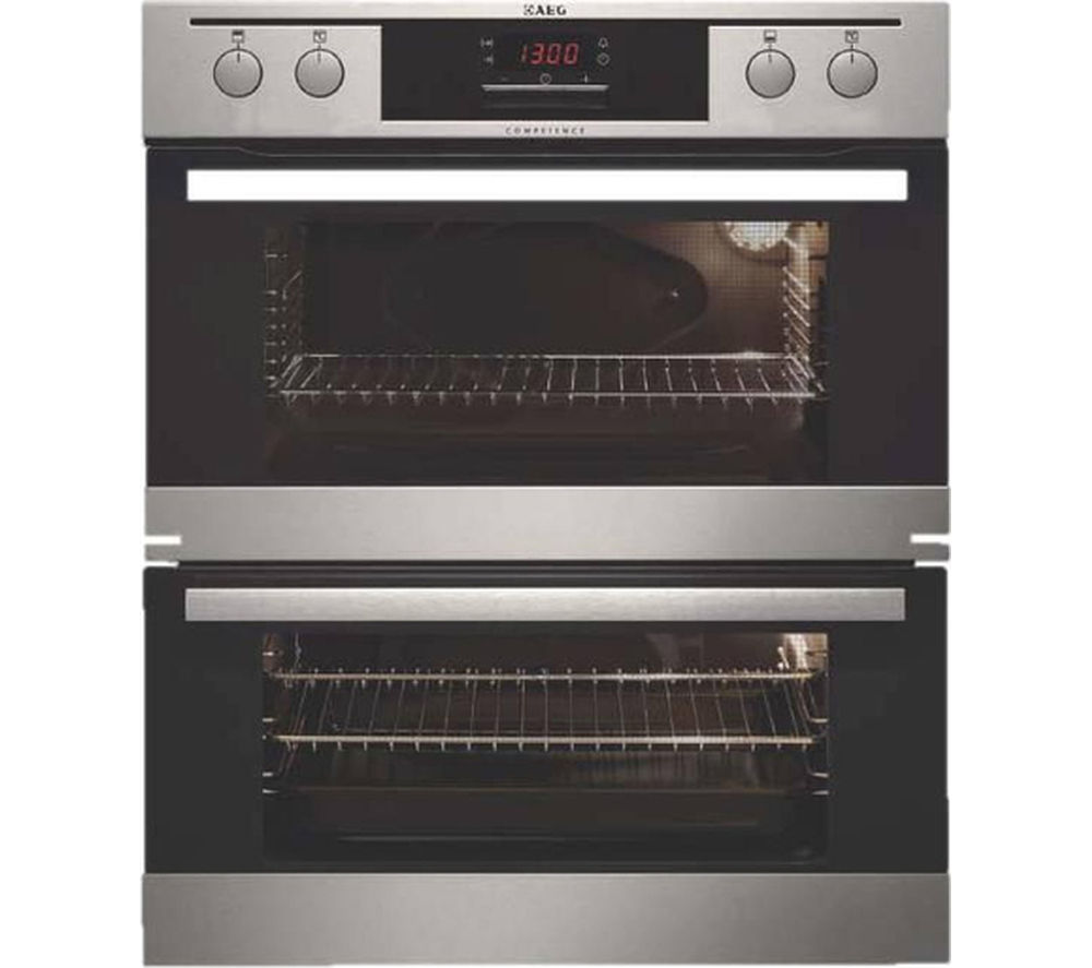 AEG NC4013021M Electric Double Oven - Stainless Steel