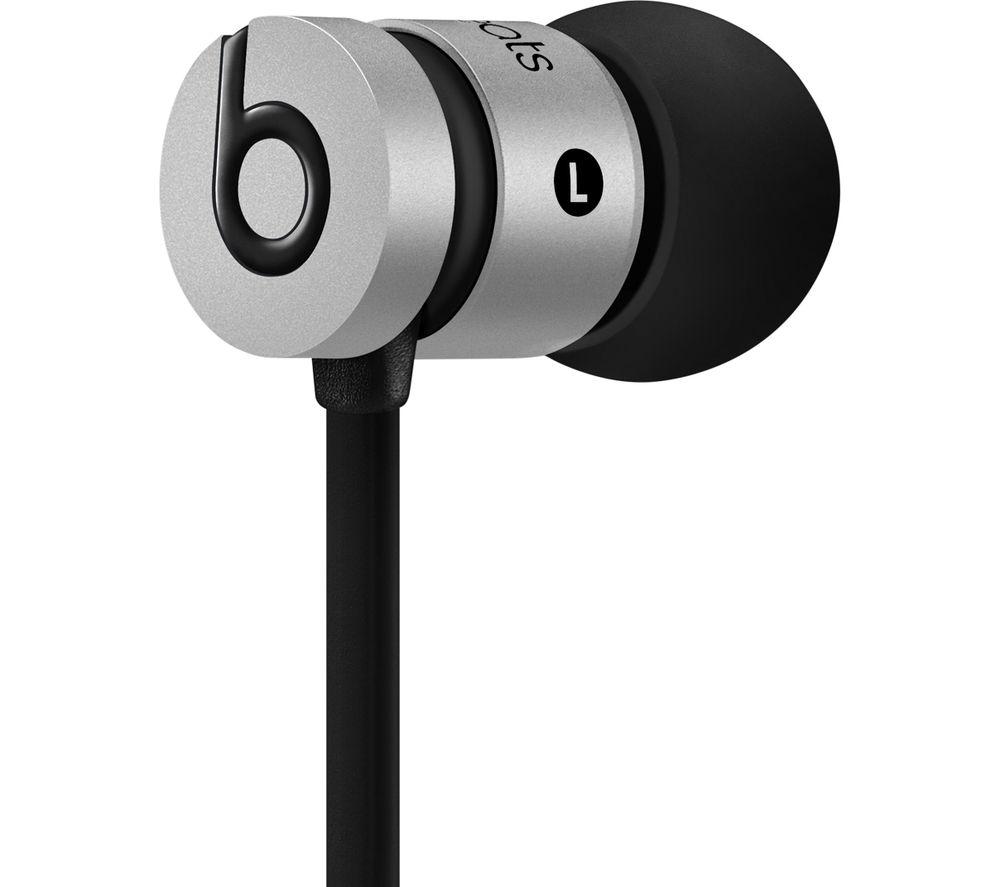 UrBeats Headphones - Space Grey + iPhone 7 Lightning to 3.5 mm Headphone Jack Adapter