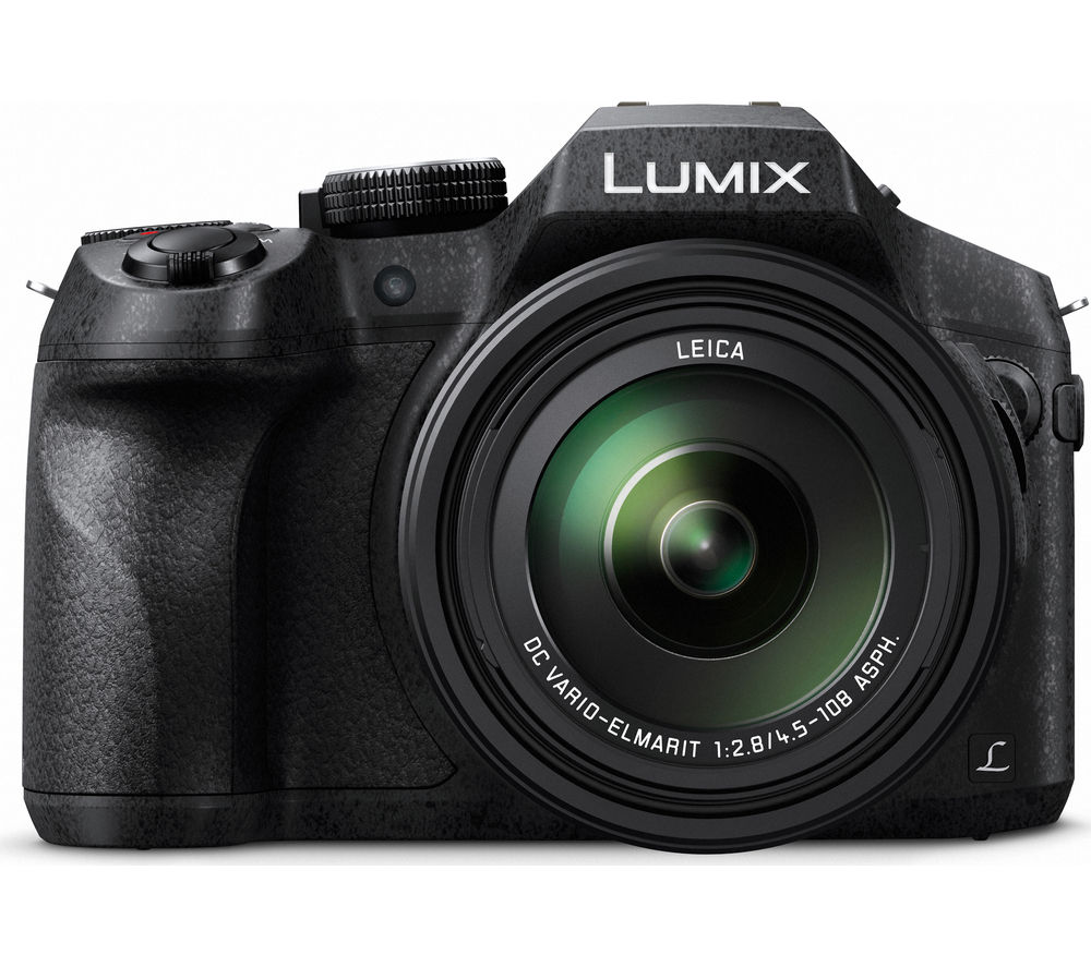 PANASONIC DMC-FZ330EBK Bridge Camera - Black, Black