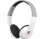 SKULLCANDY Uproar S5URHW-457 Wireless Bluetooth Headphones - White, Grey & Red