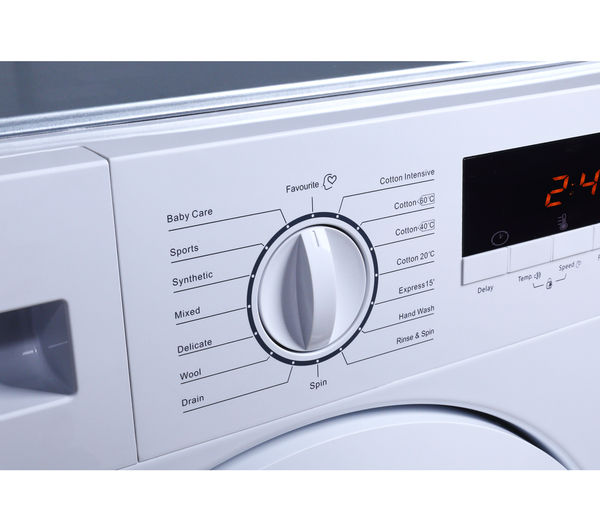 53800602f3c LOGIK LIW814W15 Integrated Washing Machine - White Fast Delivery ...