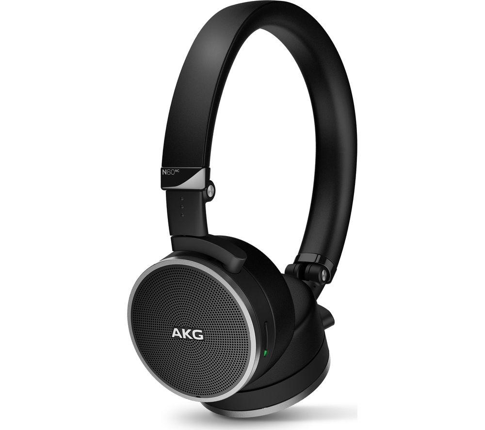AKG N60NC Noise-Cancelling Headphones - Black