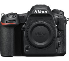 NIKON D500 DSLR Camera - Black, Body Only