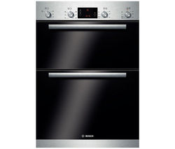 BOSCH Serie 6 HBM43B150B Electric Double Oven - Stainless Steel