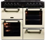 LEISURE Cookmaster CK100F232C Dual Fuel Range Cooker - Cream