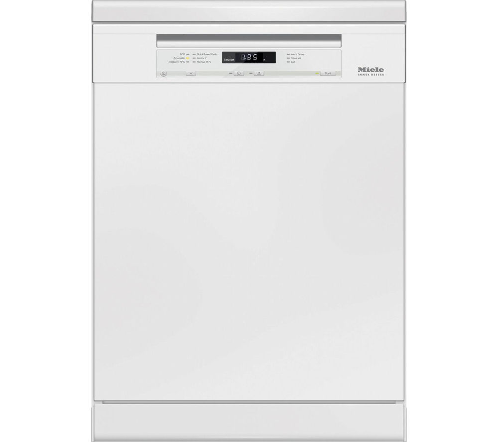 MIELE G6620SCi Full-Size Semi-Integrated Dishwasher - White