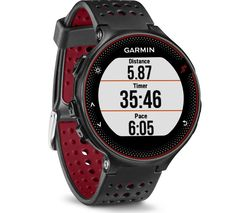 GARMIN Forerunner 235 - Black & Red