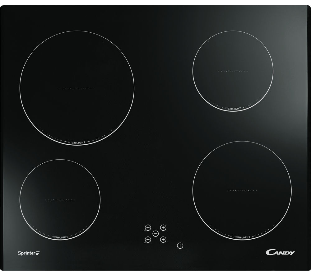 CANDY CH64C Electric Ceramic Hob - Black