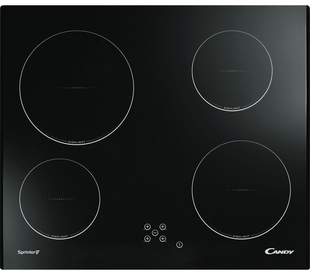 Image of CANDY CH64C Electric Ceramic Hob - Black, Black