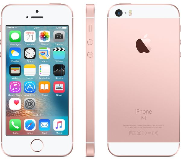 buy apple iphone se 32 gb rose gold free delivery currys. Black Bedroom Furniture Sets. Home Design Ideas