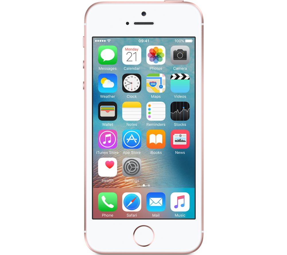 Apple Iphone Se Gb Rose Gold