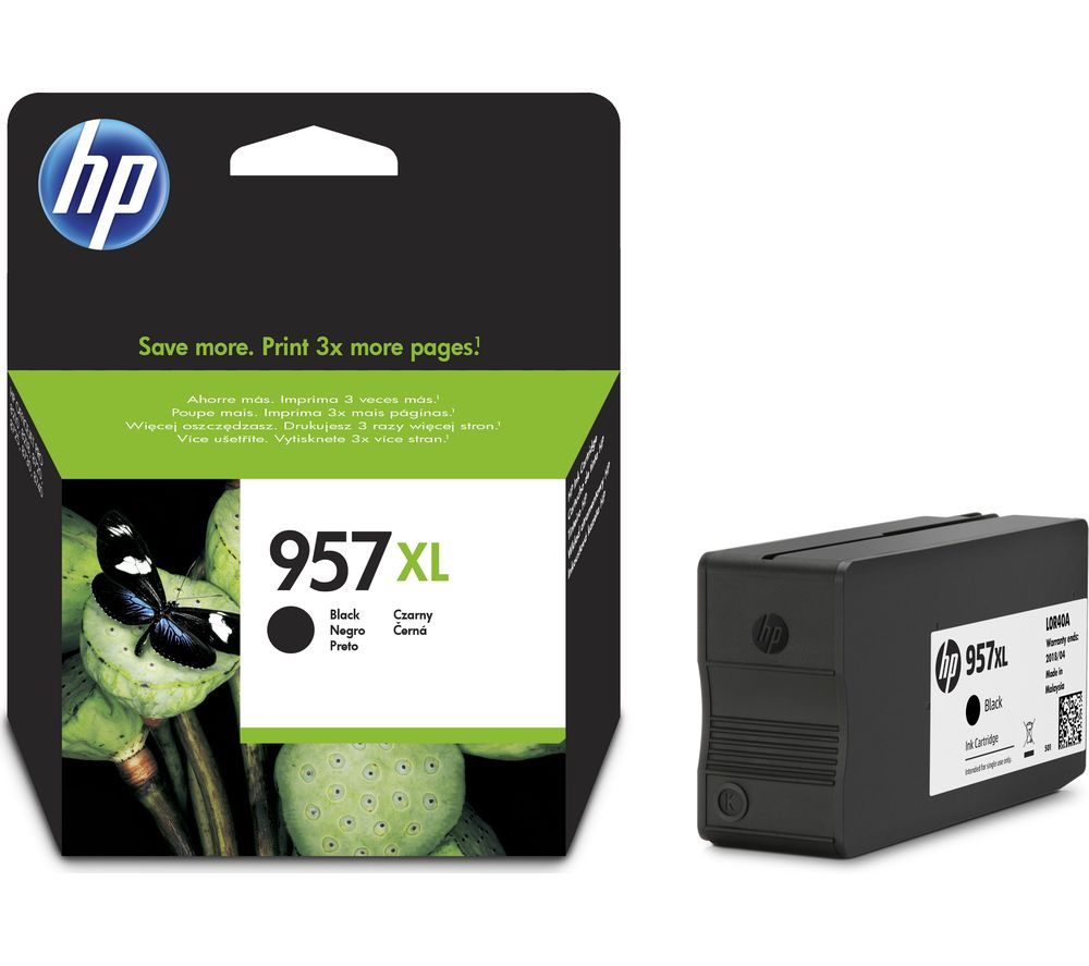 HP 957XL Black Ink Cartridge