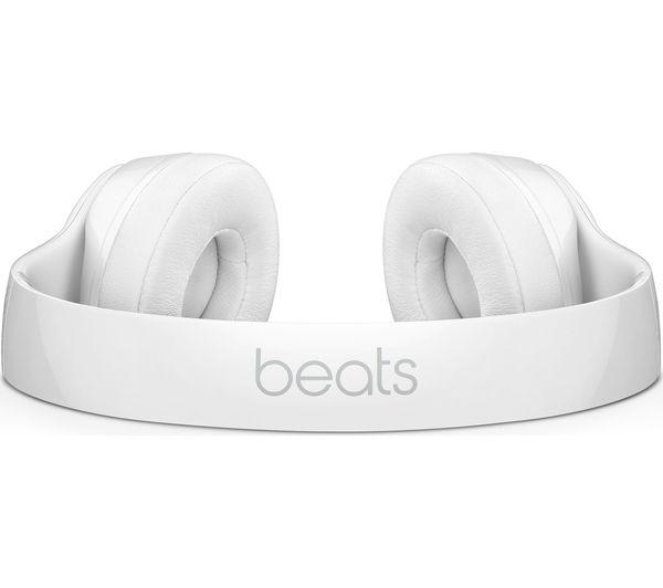 a838de4f0db Buy BEATS Solo 3 Wireless Bluetooth Headphones - White | Free ...
