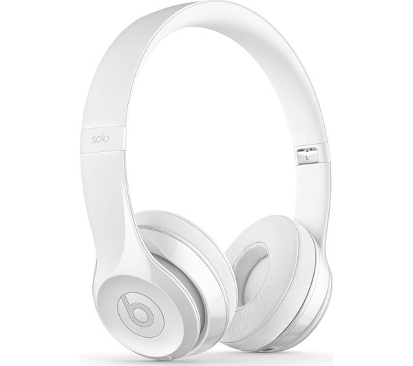 Buy BEATS Solo 3 Wireless Bluetooth Headphones - White  a231b3e0e