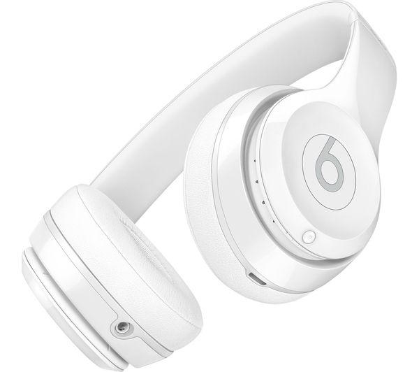 Buy BEATS Solo 3 Wireless Bluetooth Headphones - White  46b8b361f
