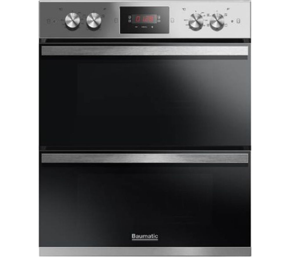 BAUMATIC BODM754X Electric Double Oven - Stainless Steel