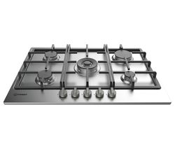 INDESIT THP 751 W/IX/I Gas Hob - Stainless Steel