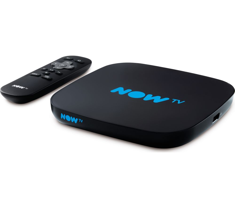 NOW TV HD Smart TV Box with 2 month Sky Cinema Pass
