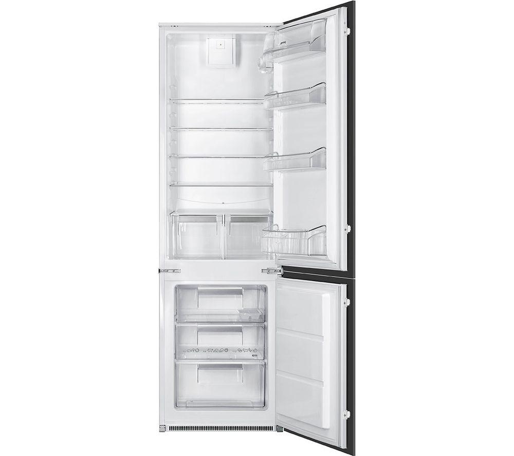 SMEG UKC7280FP Integrated 70/30 Fridge Freezer - White